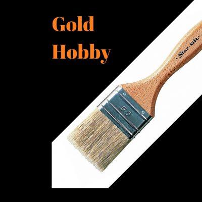 Gold Hobby-Solvent based