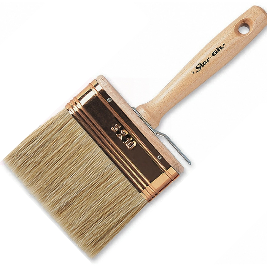 Stargil Emulsion Paint Brush - Oval