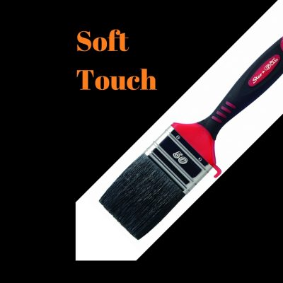 Soft Touch-Plastic Handle
