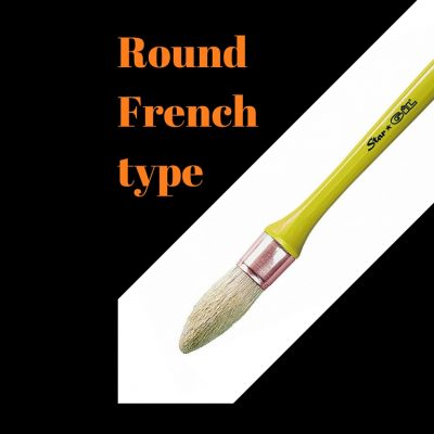 Round-French type-Solvent based