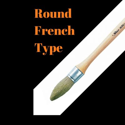 Round French Type-Water based