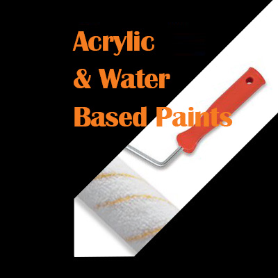 Acrylic & Water Based Paints